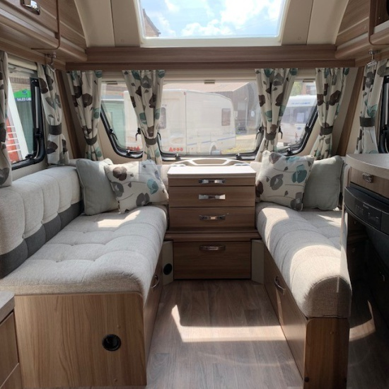M & M Leisure Centre (Haverhill) Ltd - 2015 Bailey Unicorn Cartagena 4 Berth